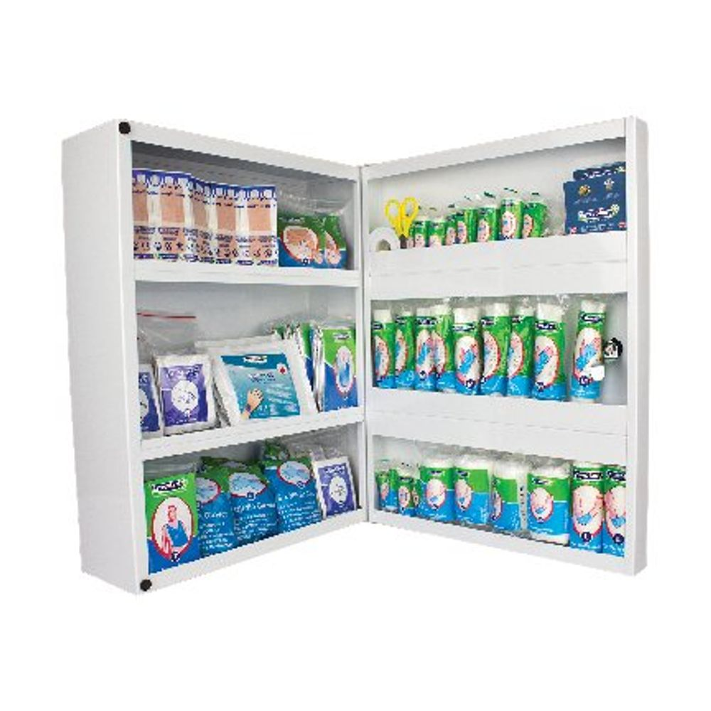 Wallace Cameron 1-50 Person First Aid Metal Cabinet - 4603011