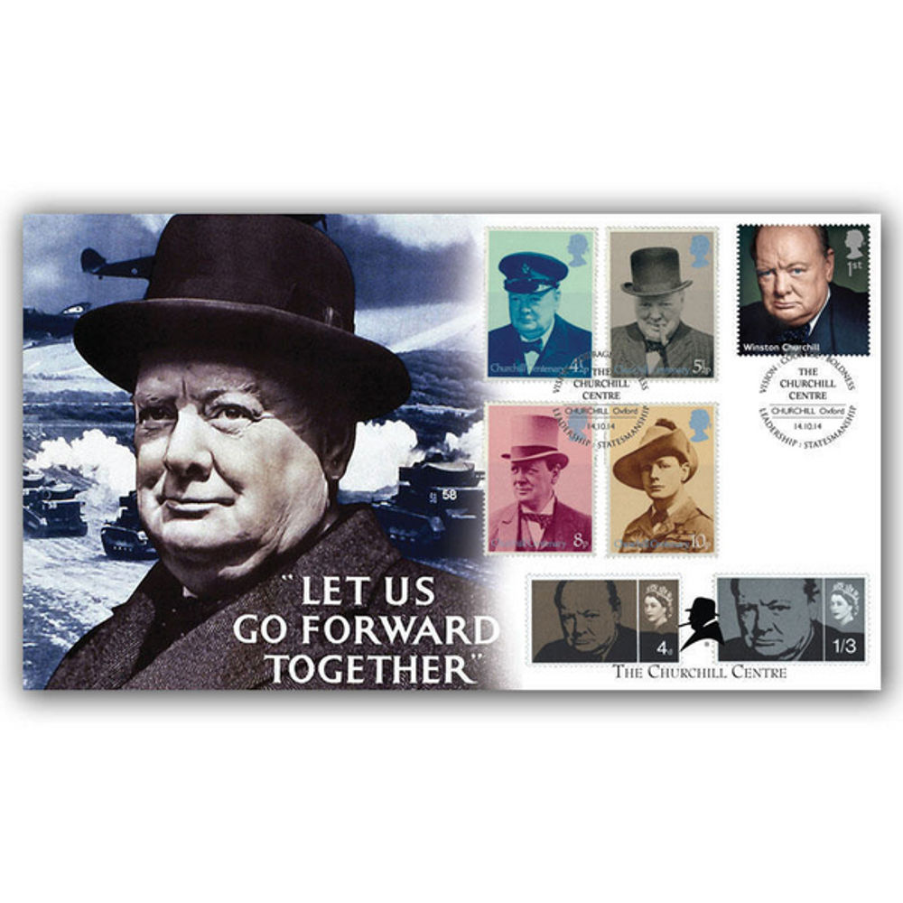 The Churchill Centre Stamps First Day Cover - BC513SP