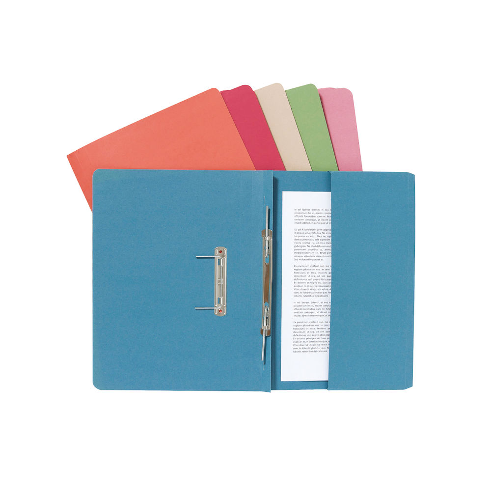 Guildhall Buff Pocket Spiral File (Pack of 25) - 347-BUFZ