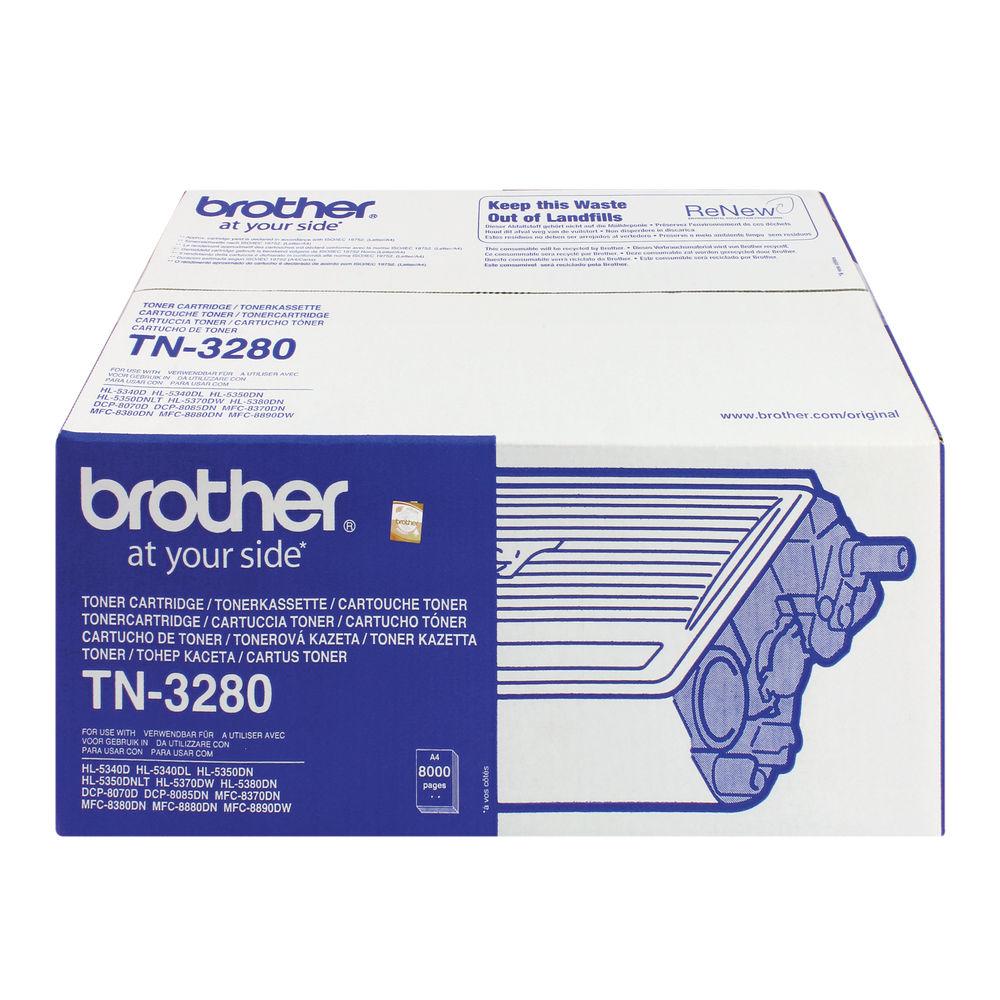Brother TN3280 High Capacity Black Toner Cartridge - TN3280