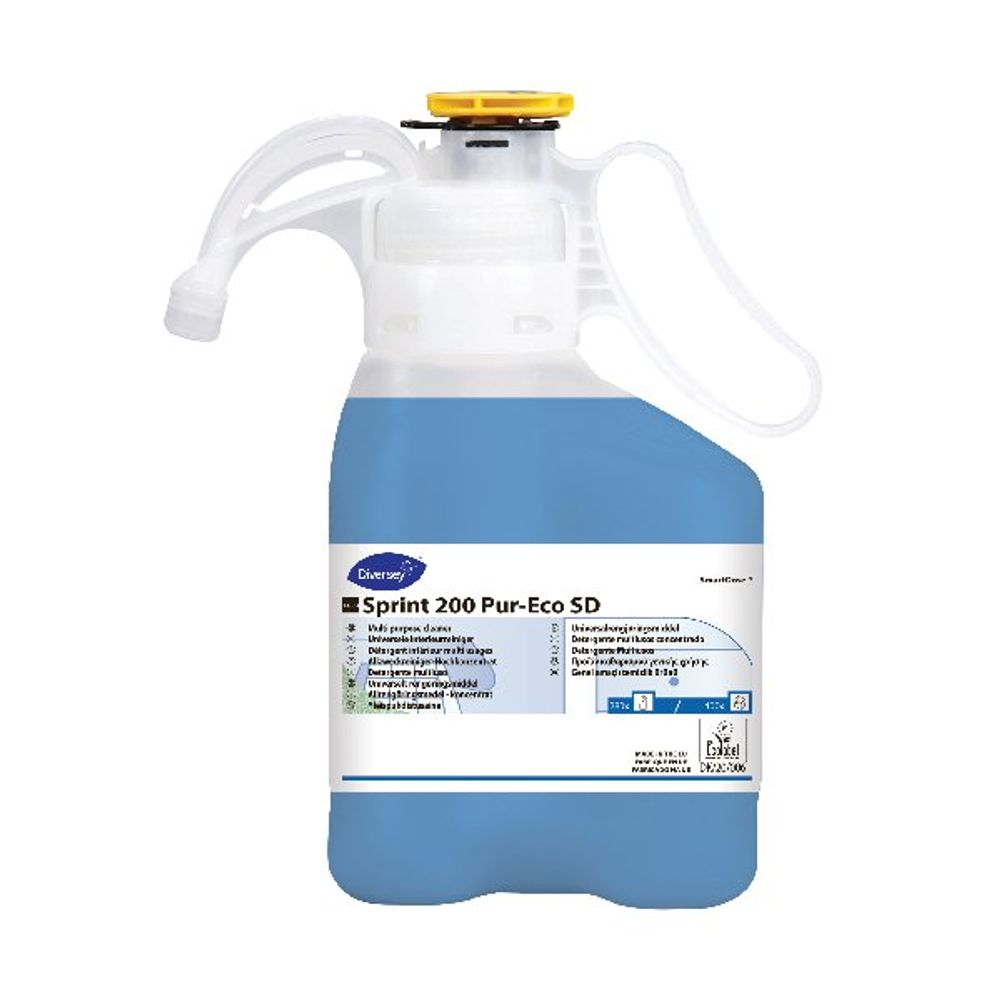 Diversey TASKI Spring 200 Pur-Eco Multipurpose and Glass Cleaner - 7517837