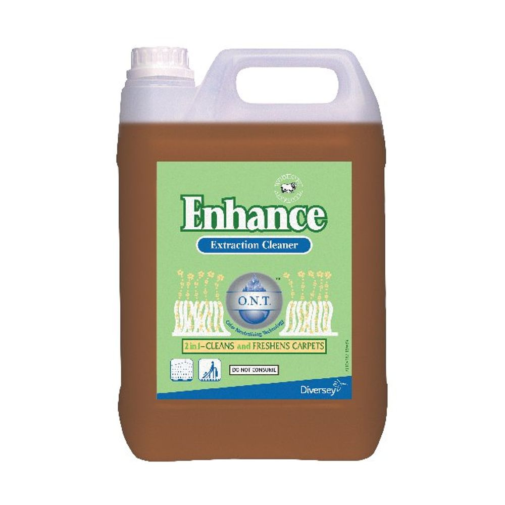 Diversey Enhance Carpet Extraction Cleaners, Pack of 2 - 411100