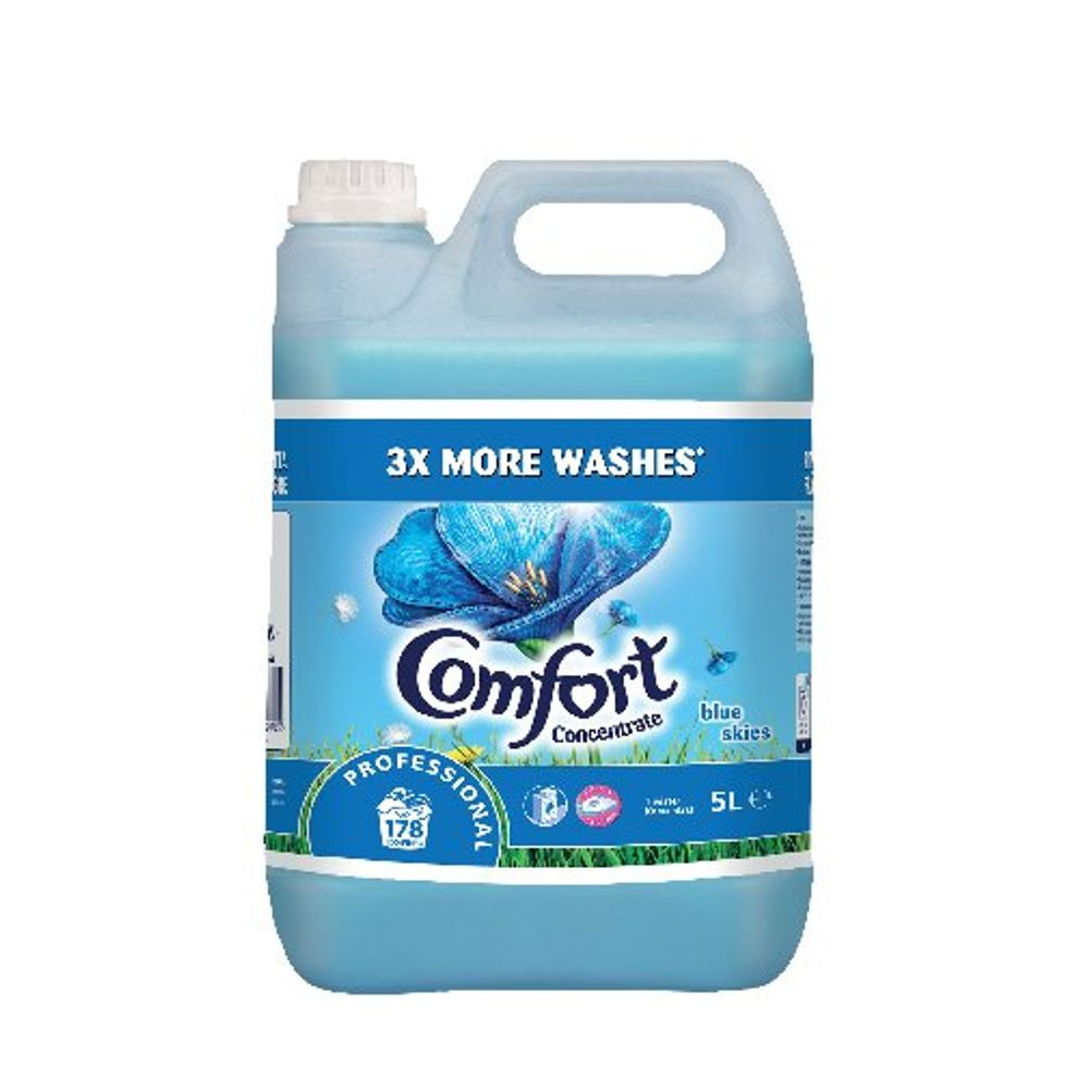 Comfort Professional Concentrated Fabric Softener 5L (Pack of 2) 750852