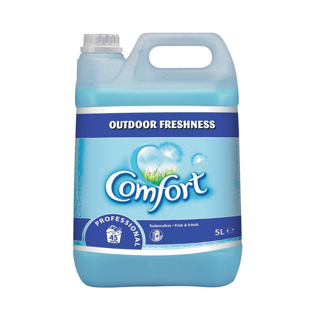 Comfort 5 Litre Professional Fabric Softeners, Pack of 2 - 7508496
