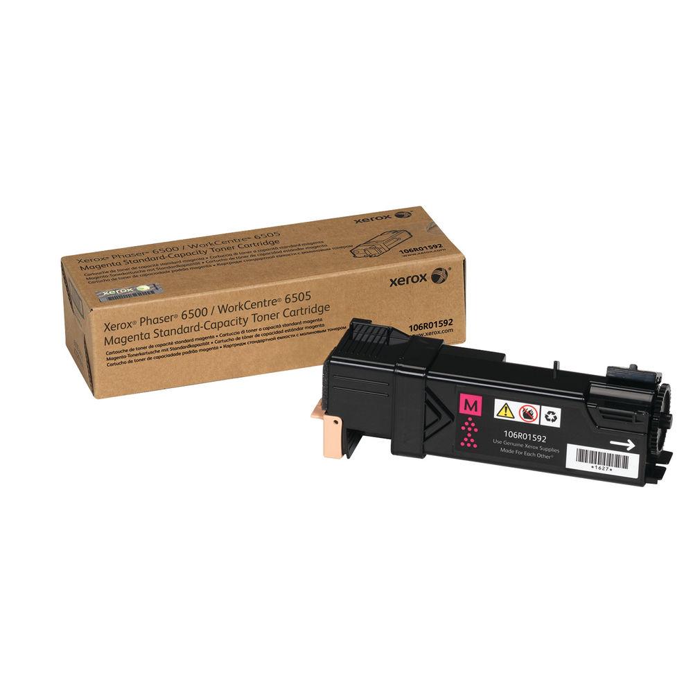 Xerox Phaser 6500 Magenta Laser Toner Cartridge - 106R01592