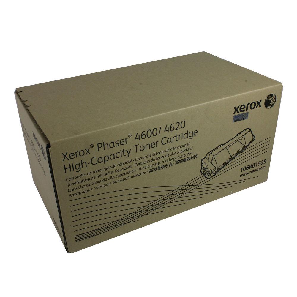 Xerox 4600/4620 Black Toner Cartridge - High Capacity 106R01535