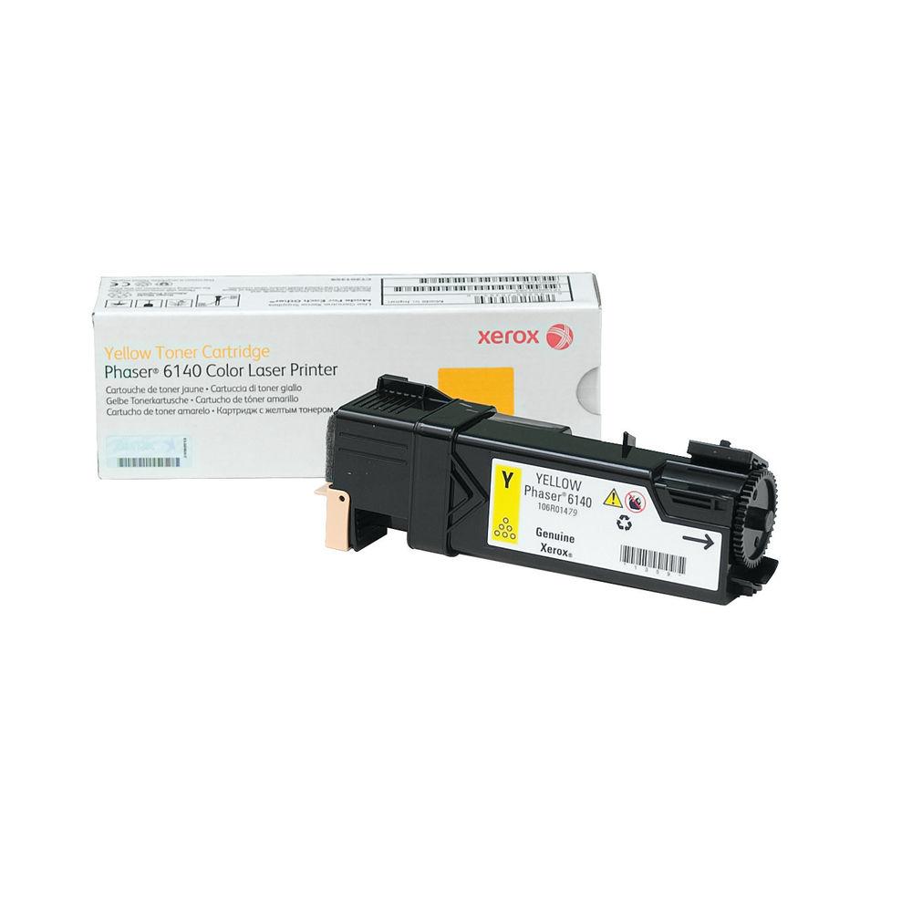 Xerox 6140 Yellow Toner Cartridge - 106R01479