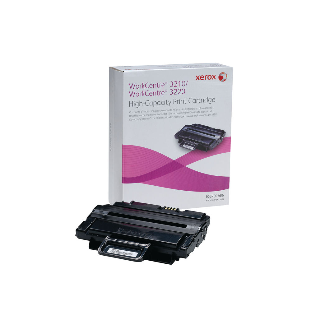 Xerox WorkCentre 3210/3220 Black High Capacity Toner 106R01486