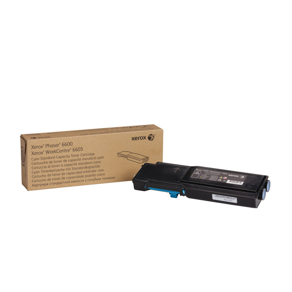 Xerox 6600/6605 Cyan Toner Cartridge - 106R02245