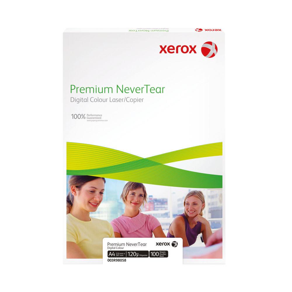 Xerox Premium White A4 Never Tear 95 Micron Film - 100 Sheets - 83703