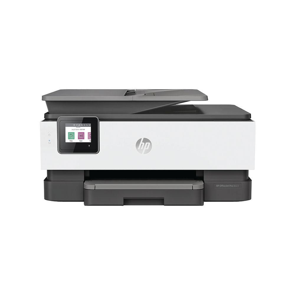 Hewlett Packard OfficeJet Pro 8022 MFC Colour Printer 1KR65B_BHC