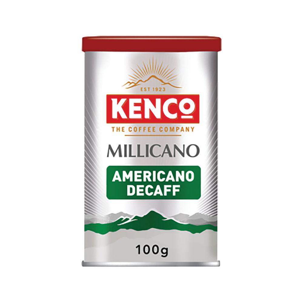Kenco Millicano Americano Decaffeinated Coffee 100g 4032091