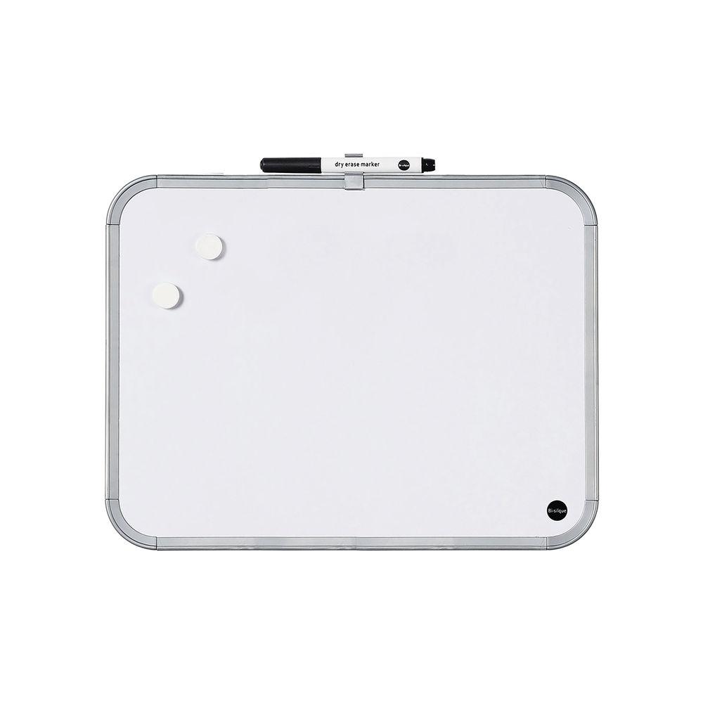 Bi-Office Easy Dry-Erase Whiteboard Plastic Frame 279 x 335mm CLK020303
