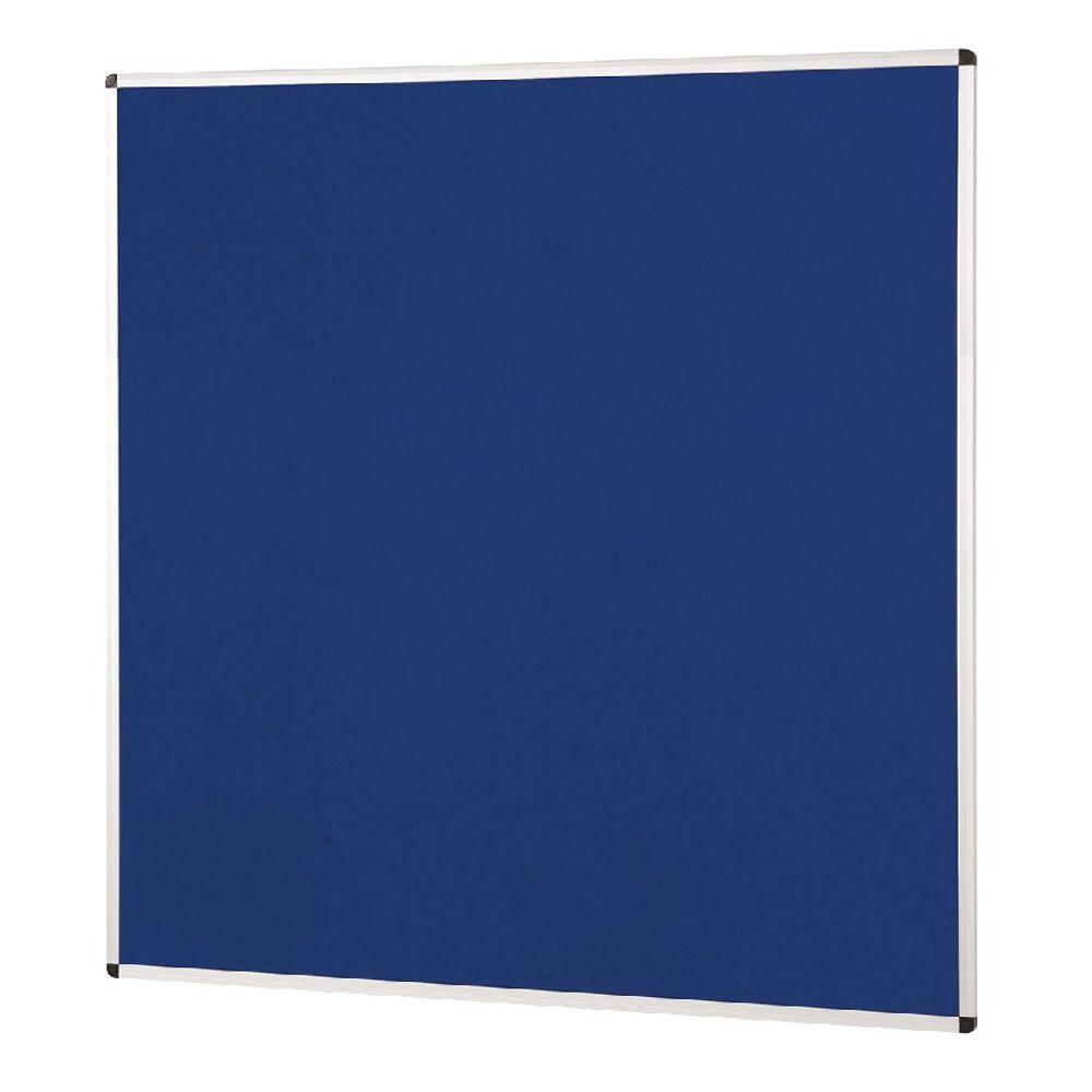 Aluminium Framed Felt Notice Board 1500 x 1200mm