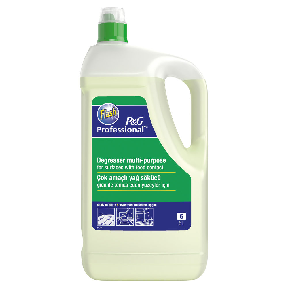 Flash 5 Litre Heavy Duty Cleaner and Degreaser - 4015600561970