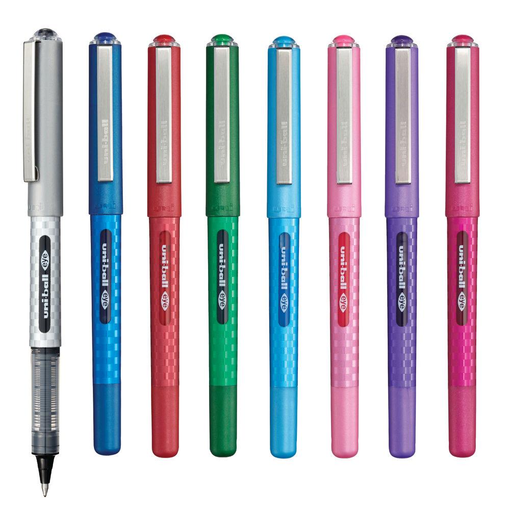uni-ball Eye Designer Rollerball Pens, Pack of 8 - 153528624