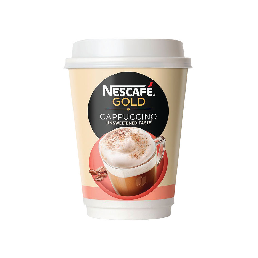 Nescafe and Go Cappuccino Cups, Pack of 8 - NKL52543