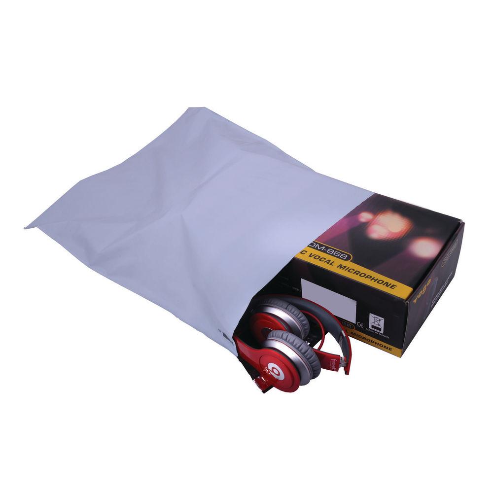 Go Secure Lightweight C3 Opaque Polythene Envelopes, Pack of 100 - PB11132