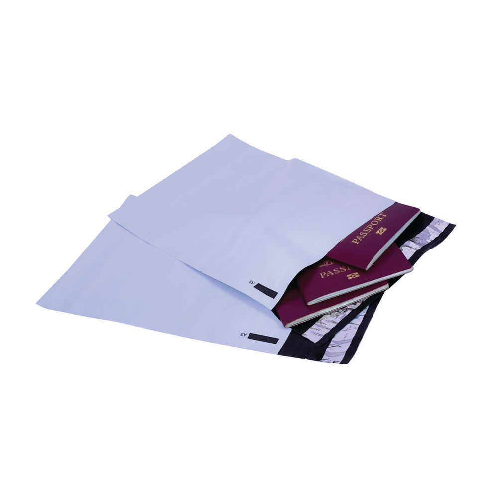 Go Secure Extra Strong C5 Opaque Polythene Envelopes - Pack of 100 - PB12222