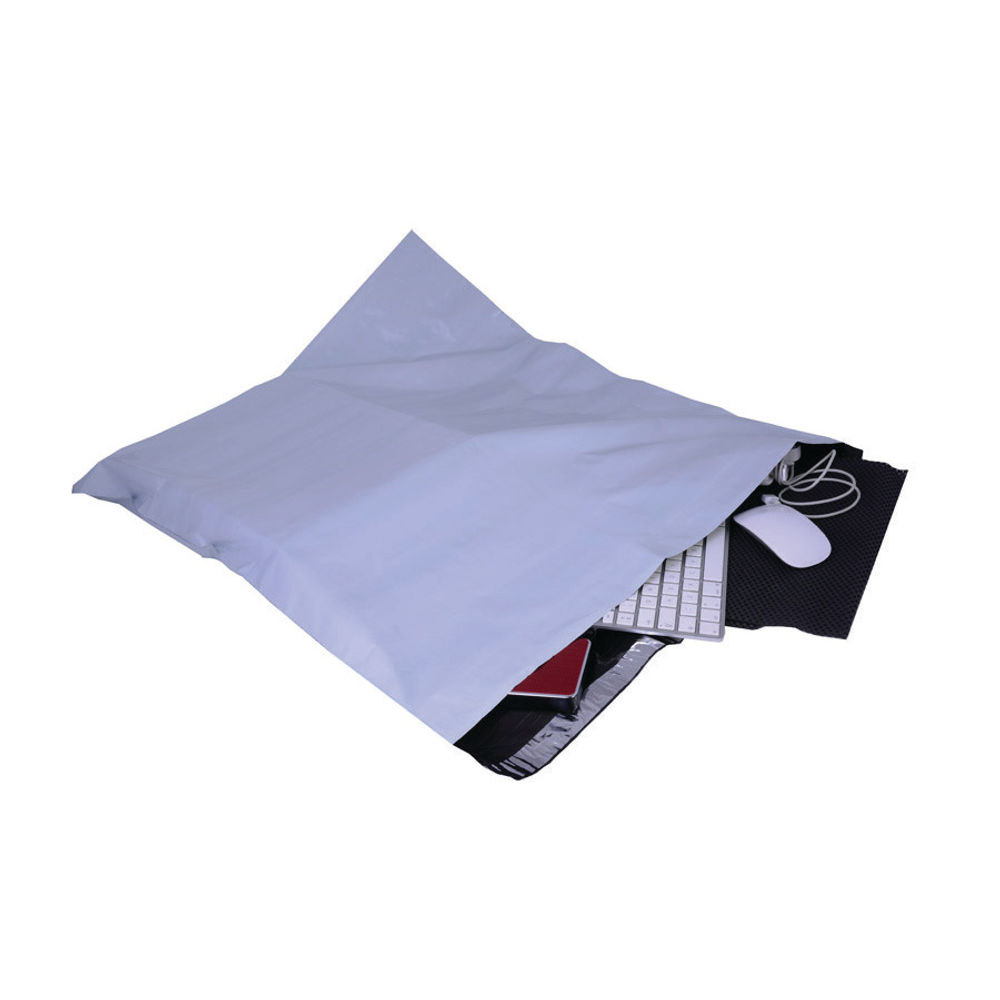 Go Secure Extra Strong Polythene Envelope, 600 x 700mm, Pack of 50 - PB22239