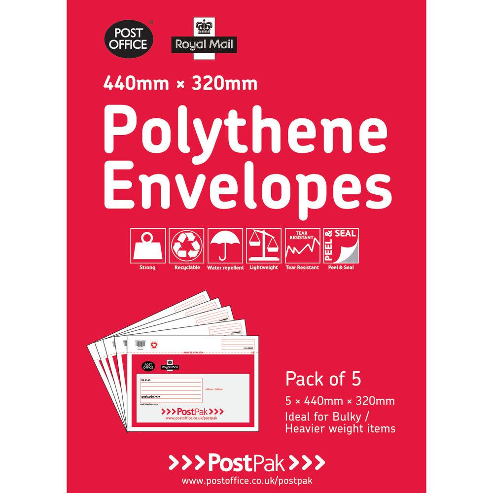 Polythene 440x320 Envelopes (Pack of 20) 101-3485