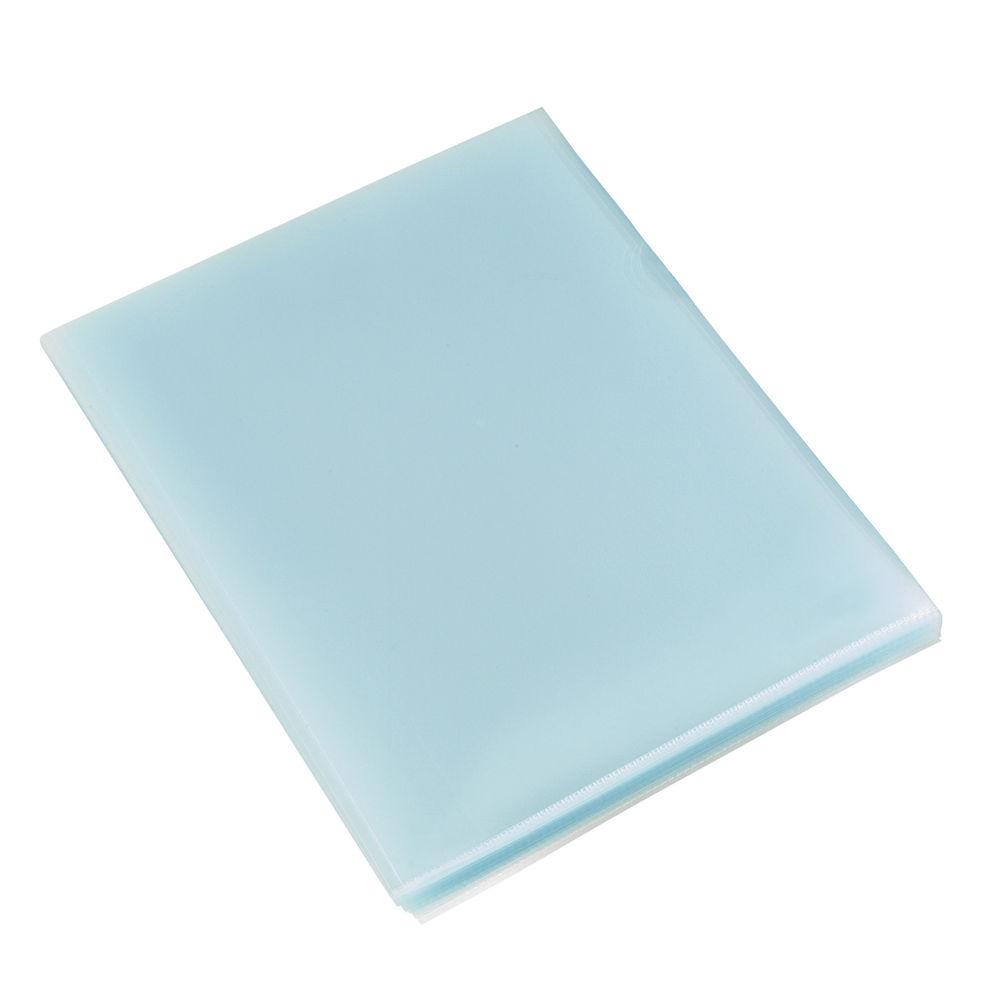 Rexel A4 Budget Plastic Folders - Pack of 100 - 12182