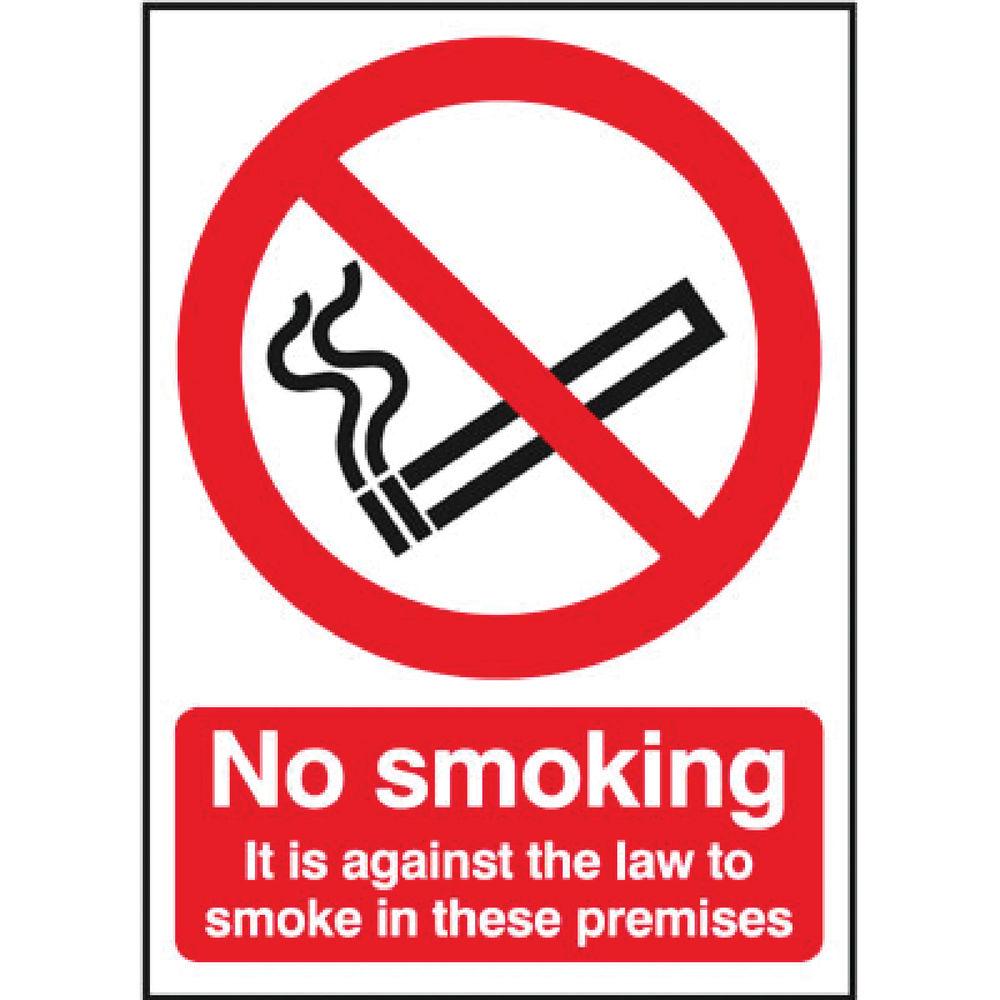 Safety Sign No Smoking (297 x 210mm) - SR72082