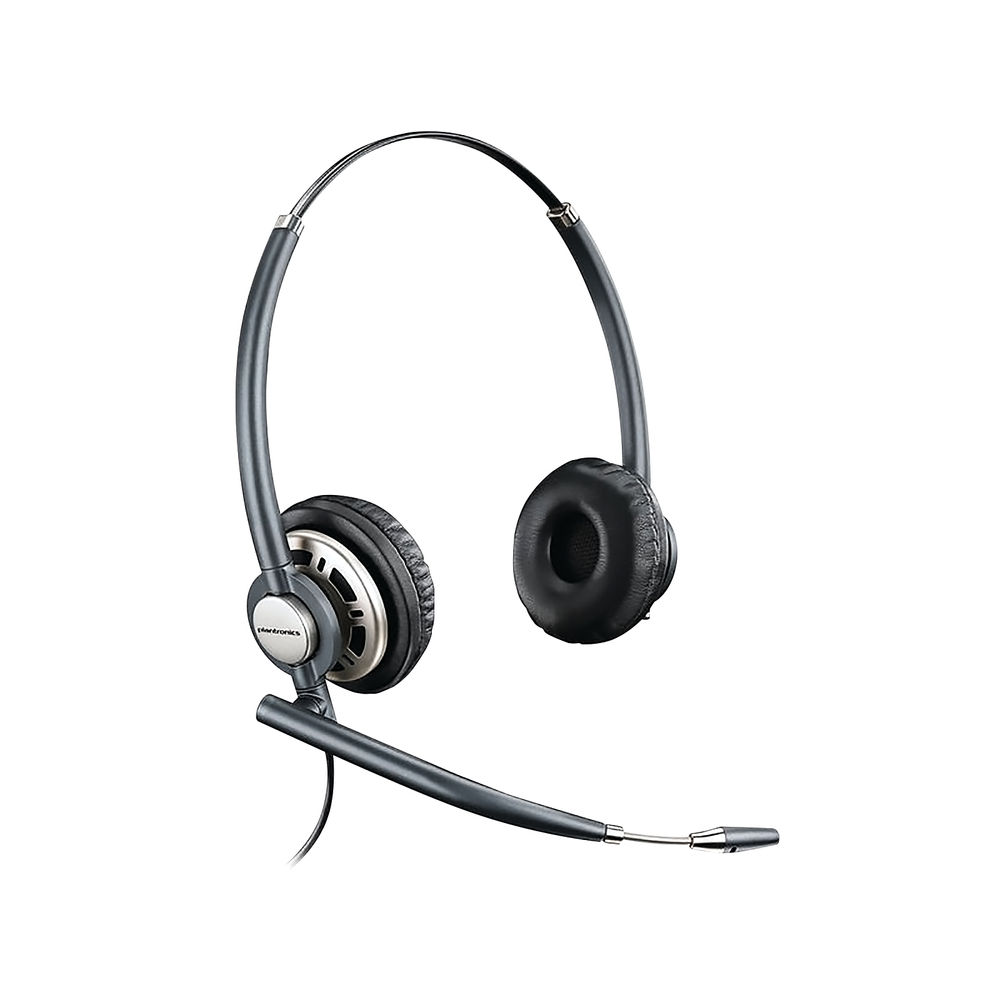 Plantronics Black EncorePro HW720 Customer Service Binaural Headset  - 78714-02