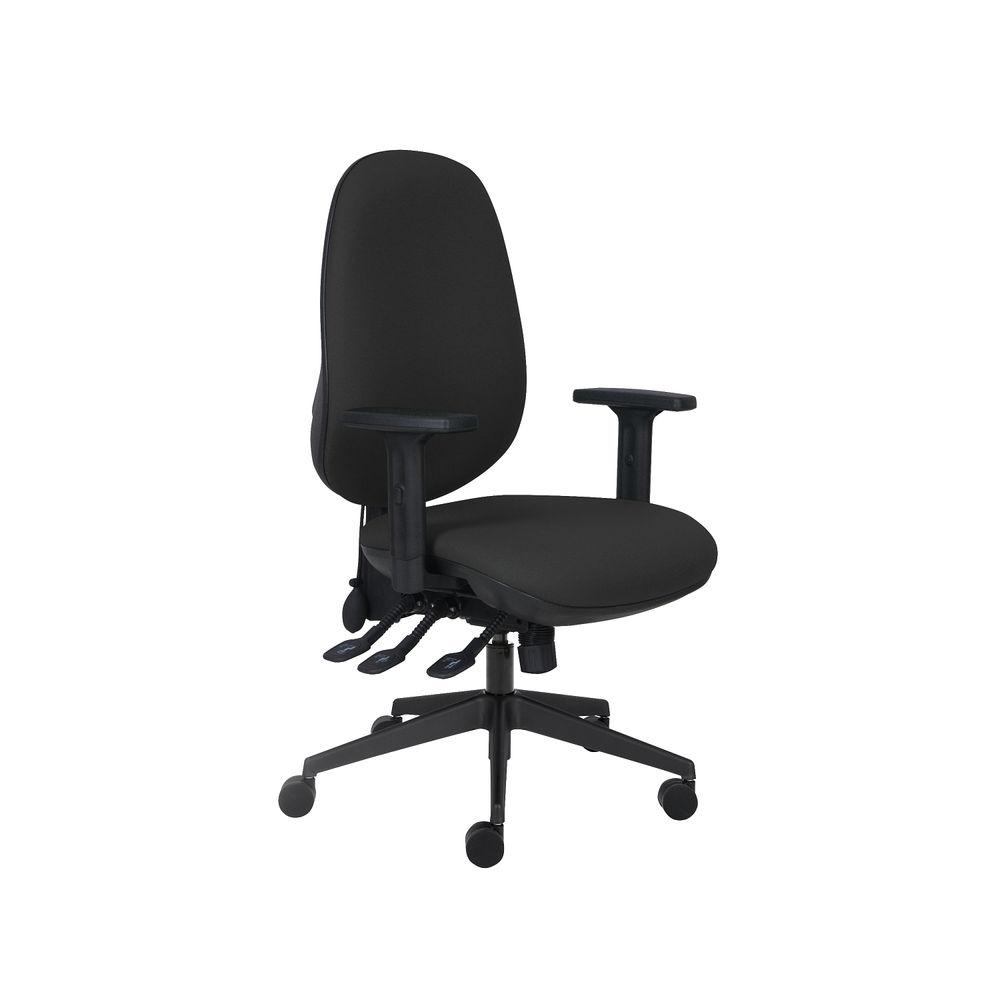 Cappela Rise Black Posture Office Chair