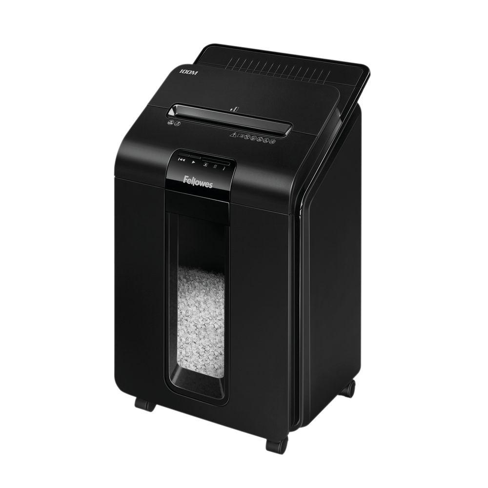 Fellowes AutoMax 100M Mini-Cut Shredder 4629301