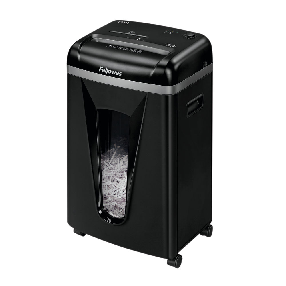 Fellowes 450M PowerShred Deskside Shredder with Silent Shred