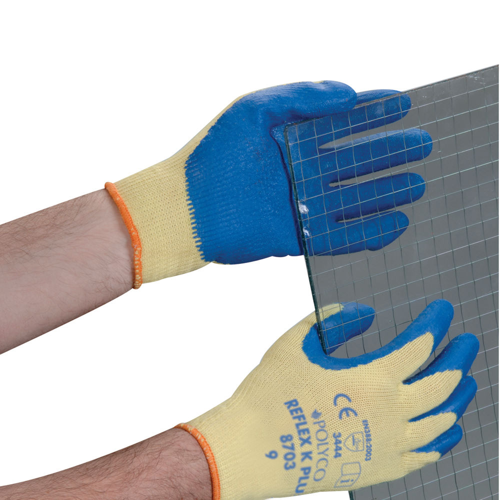 Polyco Reflex K Plus Cut Resistant Gloves Size 9 (Pack of 10) 8703