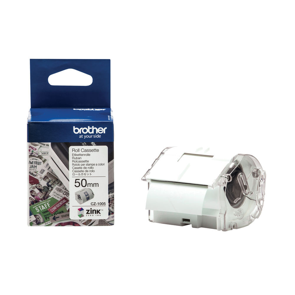 Brother Label Roll 50mm x 5m - CZ1005