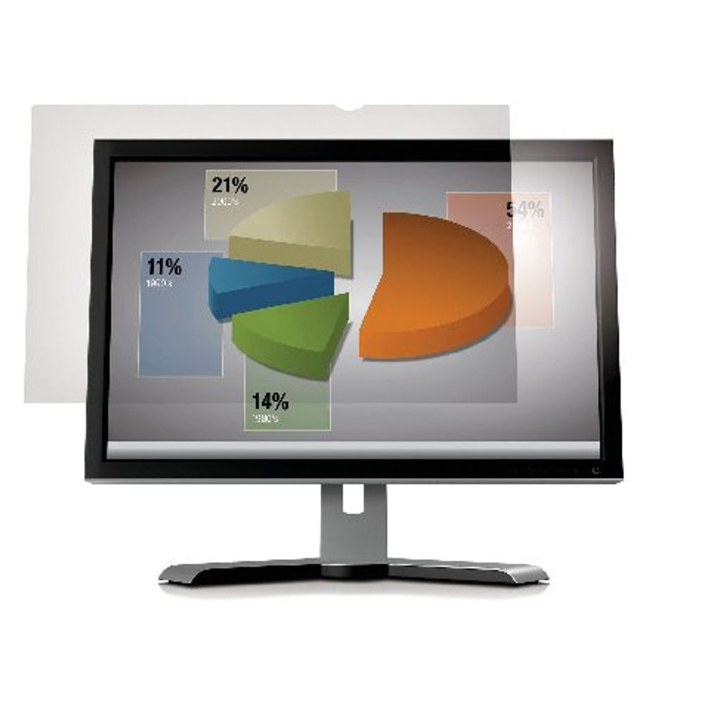 3M Frameless Anti-Glare Filter for Desktops 23in Widescreen - AG23.0W9