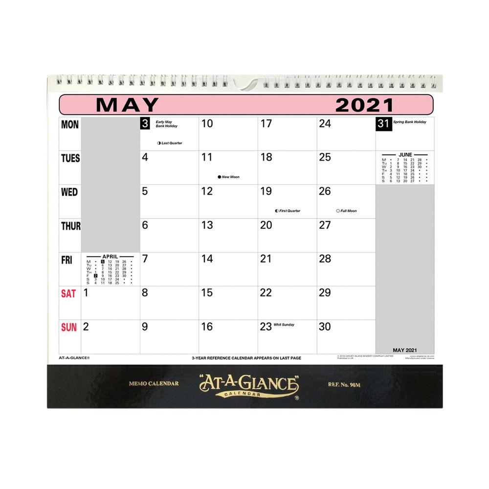 At-A-Glance Flip Over Wall Calendar 2021 - 90M21