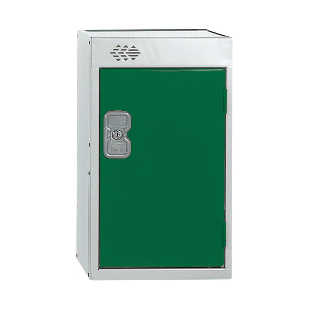 One Compartment D450mm Green Quarto Locker - MC00082