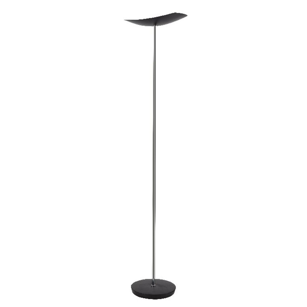 Alba Cup LED Floor Lamp Black LEDCUP N