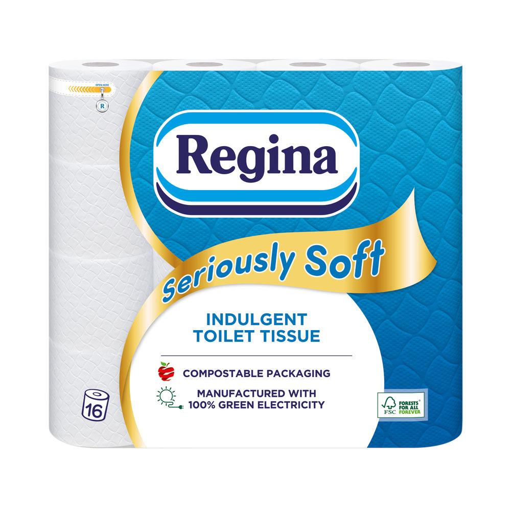 Regina Seriously Soft 3Ply Toilet Tissue 16 Roll White 1102180