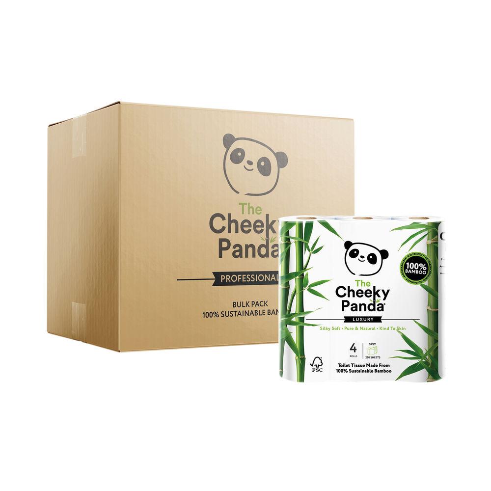 Cheeky Panda Bamboo 4 Toilet Rolls (Pack of 6) 1102181