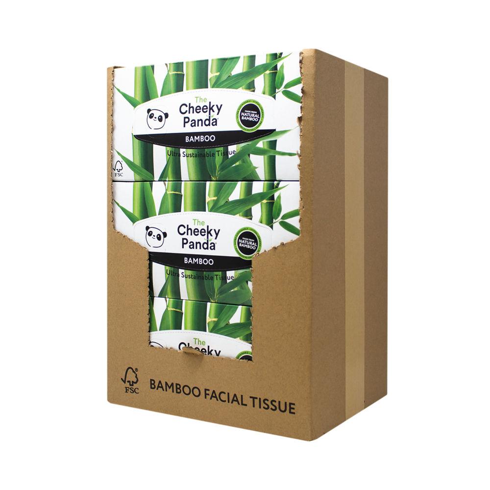 Cheeky Panda Facial Tissues Box 80 Sheets (Pack of 12) 1103039