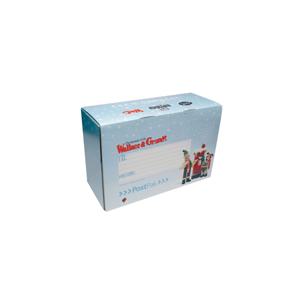 PostPak Small Wallace & Gromit Christmas Snow Mailing Box