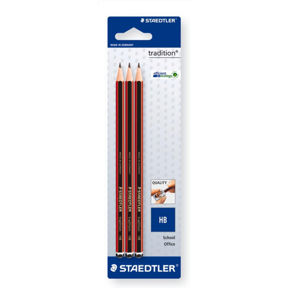 Staedtler HB Traditional Pencils, Pack of 3 - 110 HBBK3D