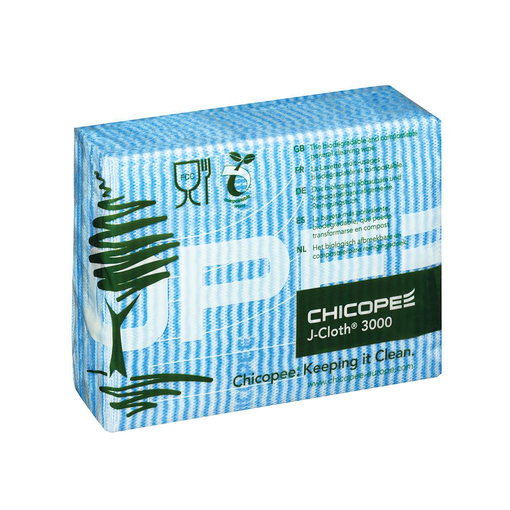 J-Cloth Blue Cloths, Pack of 50 - 0707117
