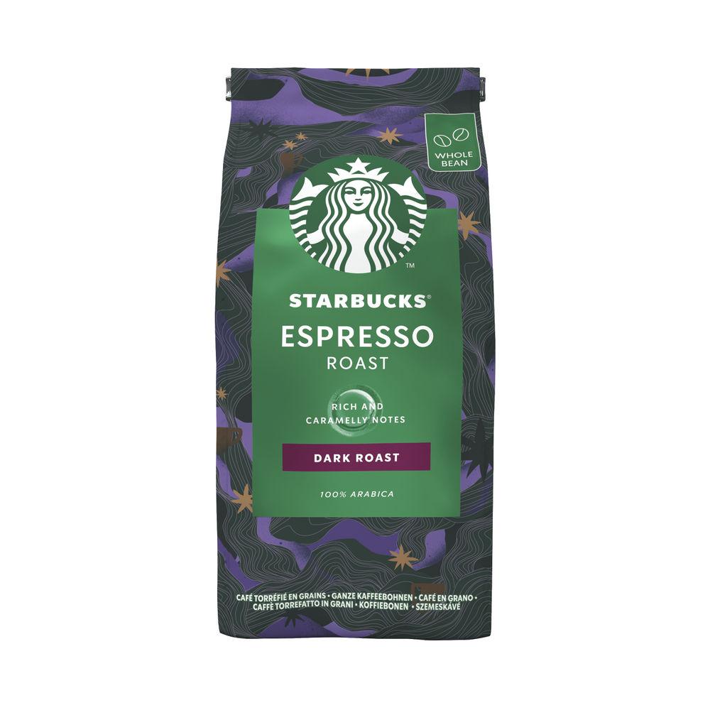 Starbucks Espresso Dark Roast Whole Bean Coffee 200g 12461186
