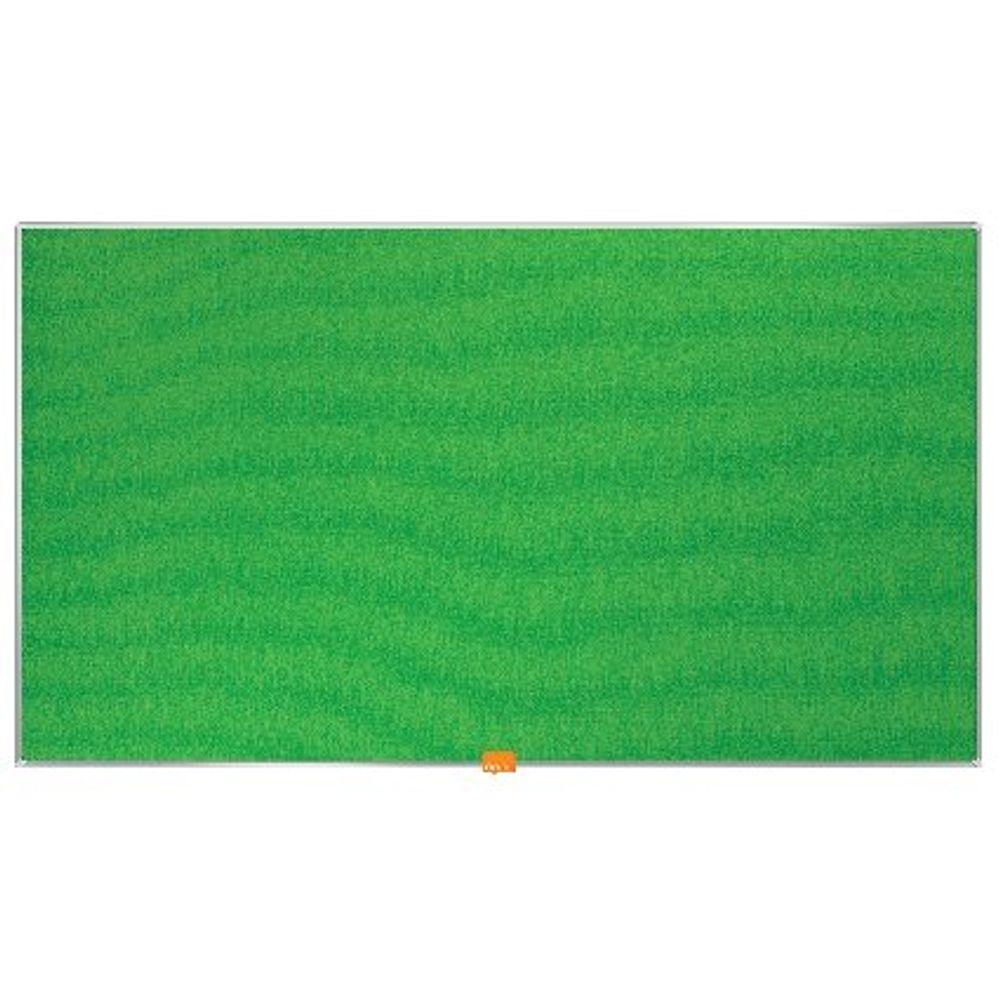Nobo Green 40 Inch Widescreen Felt Noticeboard - 1905315