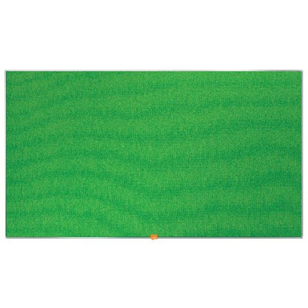 Nobo Green 55 Inch Widescreen Felt Noticeboard - 1905316