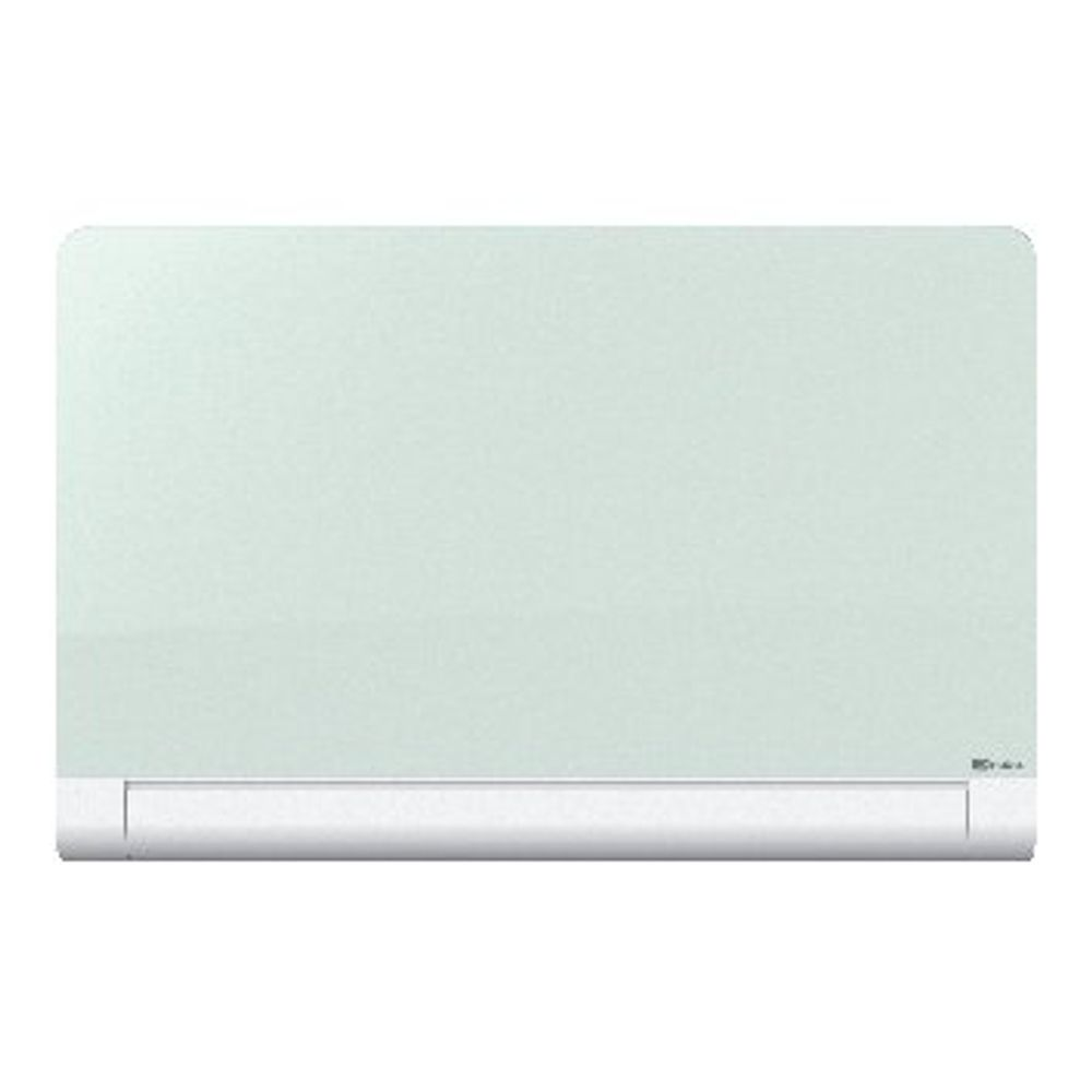 Nobo 57 Inch Widescreen Rounded Glass Whiteboard - 1905192