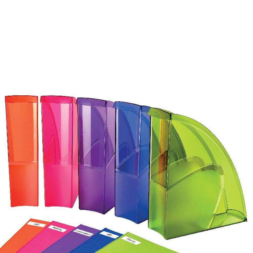 Happy by CEP Multicoloured Magazine Files, Pack of 5 - 674+*5 Happy