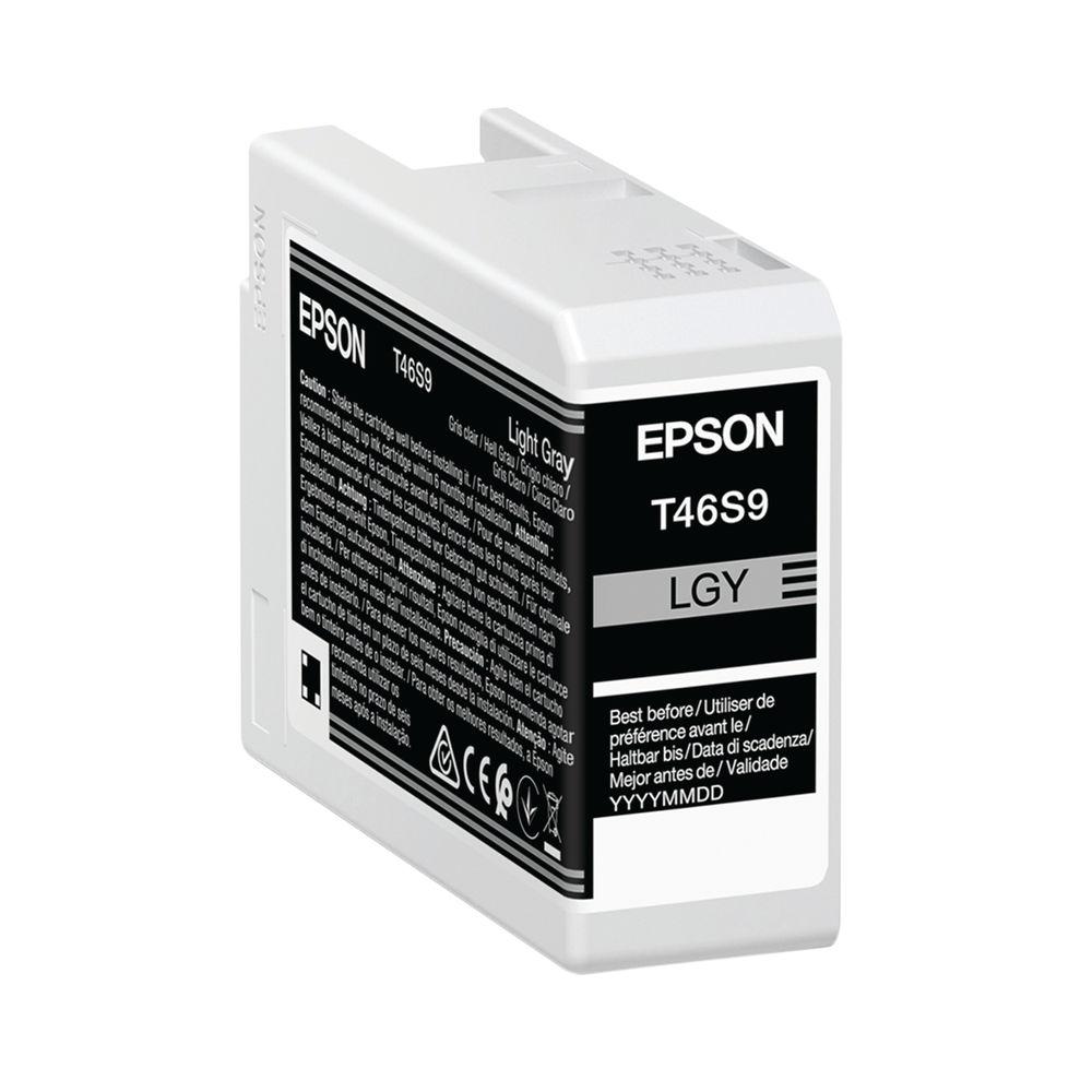 Epson T46S9 Light Grey UltraChrome Pro 10 Ink 25ml C13T46S900