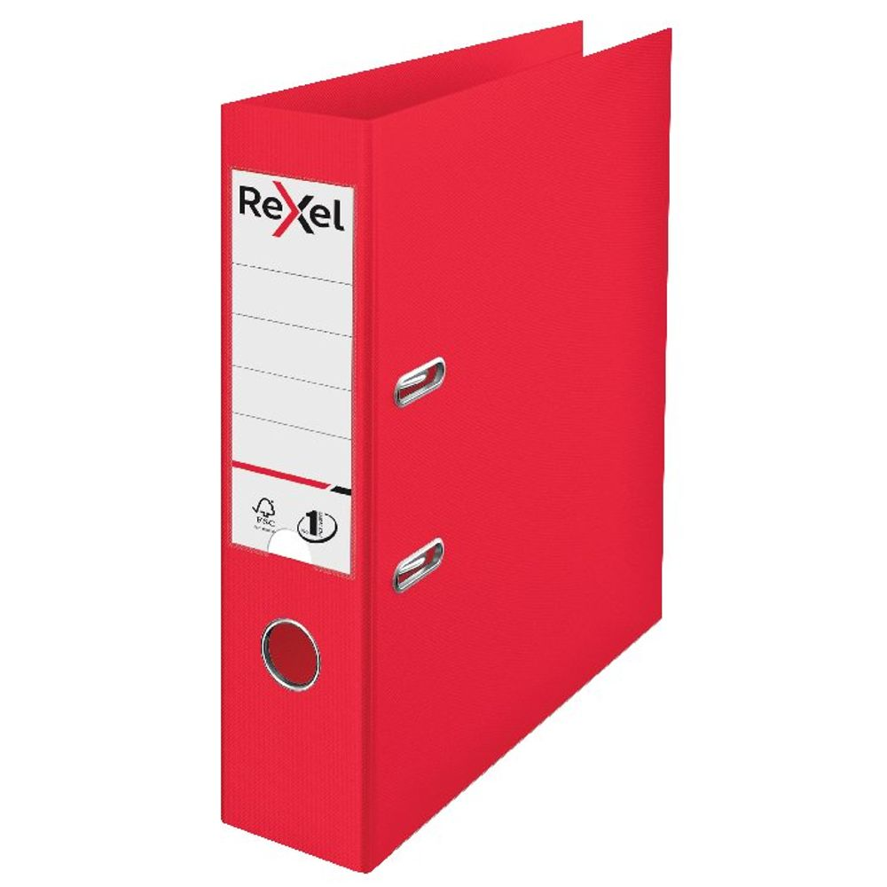 Rexel Choices Red A4 75mm Lever Arch File - 2115504